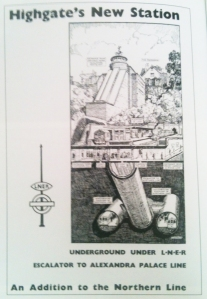 Scanned Highgate Poster