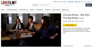 Criminal Minds 2 (Agent Prentfish)