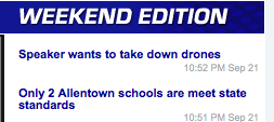 How many Newsreaders