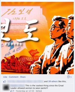 Korean Facebook FV