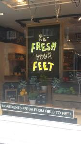 SMS Footcare Window